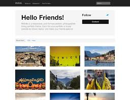 Photography Portfolio Top 20 Free Portfolio Themes For Photographers