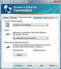 connexion bureau a distance accéder à un ordinateur grâce au bureau à distance