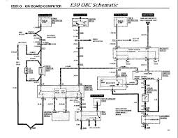 bmw e30 obc wiring diagram bmw wiring diagrams instruction