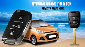 hyundai grand i10 u0026 eon flip key remote matching using kd900