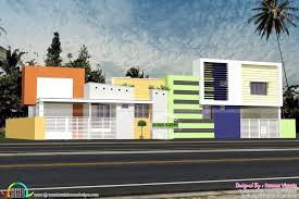 10 multi family home plans designs multi family home plan kerala