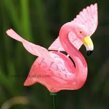 pink flamingo garden stakes flamingo lawn ornaments flamingo