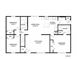 floor plan for 1 bedroom house house plan 2 bedroom ranch floor plans nrtradiant com 3 bedroom