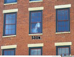 Soon Horse Meme - soon horse looking from window by boom meme center