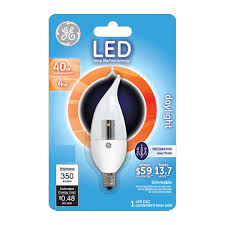 Led Light Bulbs 100w Equivalent by Ge 40w Equivalent Daylight 5000k Cac Clear Dimmable Led Light
