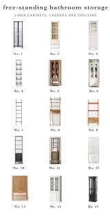top 25 best linen cabinets ideas on pinterest linen storage our favorite freestanding bathroom linen cabinets