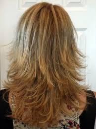 hair with shag back view long layered haircuts back view medium length layered shag