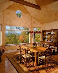 dinning rooms farmhouse dining room with rustic hutch and rustic