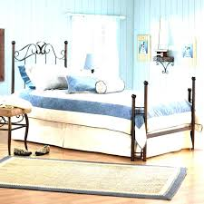 Small Bedroom Setup by Beautiful Small Bedroom Setup Ideas With Black Solid Iron Twin Bed