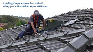 evaporative cooling melbourne ducted evaporative air conditioning