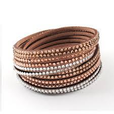 rhinestone wrap bracelet images Buy new multilayer crystal wrap bracelet jpg