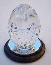 figurine clear cut glass ornaments ebay