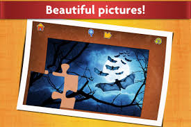 kids halloween background pictures halloween jigsaw puzzles game kids u0026 adults android apps on