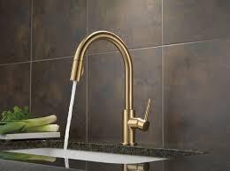 Delta Bar Sink Faucet Delta 9159 Cz Dst Trinsic Single Handle Pull Down Kitchen Faucet