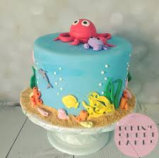 Bear Themed Baby Shower Cakes Amazing Ideas Ocean Themed Shower Winsome Inspiration Beach Intended