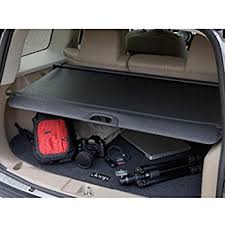 2014 jeep patriot cargo cover amazon com 2008 2016 jeep patriot compass cargo area security