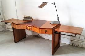 French Computer Desk by Rare Saddier French Art Deco Gull Wing Desk For Sale At 1stdibs
