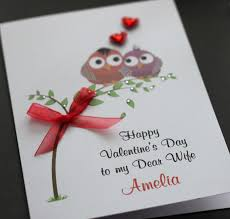 cool valentines cards to make a5 handmade personalised cute owls valentine u0027s card husband