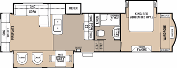 silverback rv floor plans forest river cedar creek rvs for sale camping world rv sales