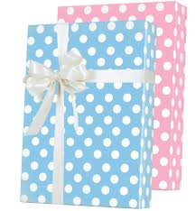 baby dots reversible gift wrap innisbrook wrapping paper