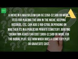 mausoleum cost how much does it cost to put ashes in a mausoleum