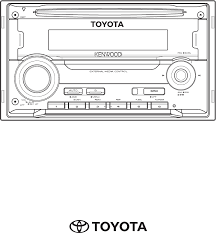 toyota car stereo toyota car stereo system 86120 yza59 user guide manualsonline com