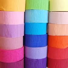 crepe paper streamers bulk crepe paper mille