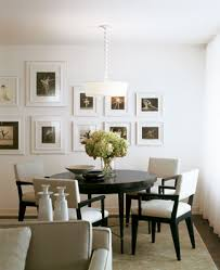 Black Dining Table White Chairs Room