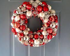 ornament wreath tutorial ornament wreath glass