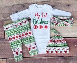 my christmas baby girl baby girl christmas outfitmy 1st christmas my girl