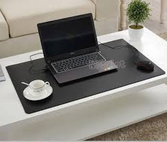 Laptop Writing Desk W405 Eco Friendly Soft Rubber Resin Large Office Writing