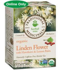 linden flower linden flower with hawthorn lemon balm traditional medicinals
