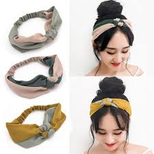 tie headbands women headband knotted 2017 summer autumn girl twist tie turban
