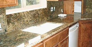 pictures of kitchen countertops and backsplashes improve your home with a granite backsplash the kitchen