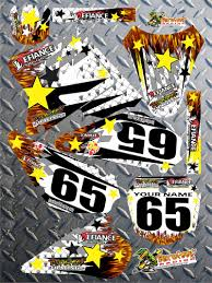 custom motocross bikes bikes create custom dirt bike graphics ktm number plate graphics