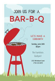 invitation flyer templates free free bbq party invitation u0026 flyer templates greetings island for