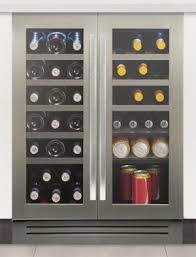 under cabinet wine cooler wi6230 60cm under counter wine cabinet in stainless steel