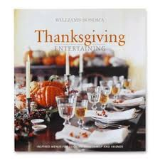 thanksgiving entertaining book williams sonoma