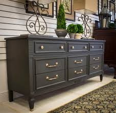 Bedroom Furniture Painted With Chalk Paint Http Www Portilla Design Com Graphite Regency Dresser