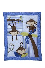 Monkey Crib Bedding Sets 38 Best Blue Baby Bedding Images On Pinterest Baby Beds Baby