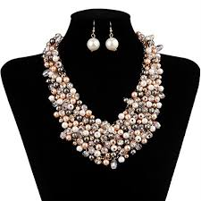 big pearl choker necklace images Big pearls necklace jpg