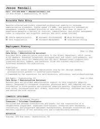 Administrative Assistant Job Duties Resume by Data Entry Specialist Job Description Resume 7595