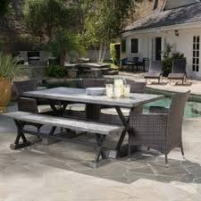 6 Seat Patio Dining Set Outdoor Dining Sets Shop The Best Patio Furniture Deals For Nov