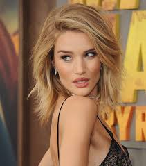 rosie huntington side parted lob the most requested celebrity haircuts right now hair world magazine