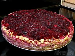 thanksgiving special cranberry cheesecake cook like your grandmother