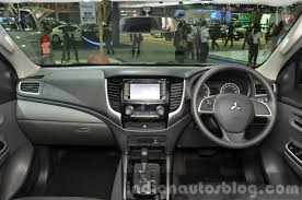 mitsubishi pajero interior 2016 mitsubishi pajero sport gets rendered accurately