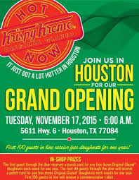 houston krispy kreme when are they opening houston on the cheap