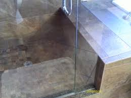 bathrooms krumsee construction847 878 9598 here is a full renovation of a master bath the large shower includes a linear drain custom tile work with recessed niches shower seat handheld shower