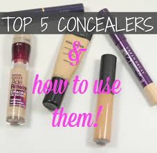 my top 5 concealers u0026 how to apply them collective beauty