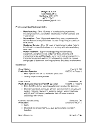 Resume For Forklift Operator Citizen J2ee Resume Singapore Canada Monster Resume Cheap